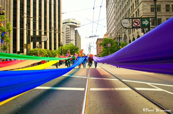 LGBT Pride Parade San Francisco 2008 by David Yu on Flikr.com